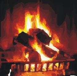 Blizzard Fireplace