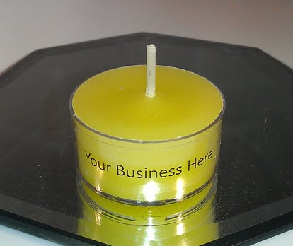 Personalized Business Promotional Tealight Products