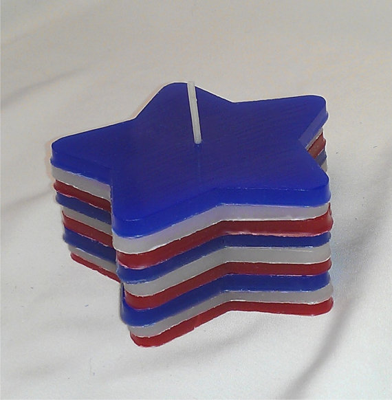 DIY Patriotic Candle Craft Kit